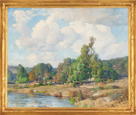 A Summer Day, New Ipswich, NH by William Kaula (1871-1953)